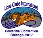 ライオンズクラブ国際大会 第100回: シカゴ国際大会 ロゴ