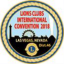 ライオンズクラブ国際大会 第101回 ラスベガス - ロゴ